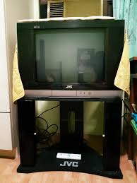 Image Safest Online Carousell Jvc Tv 21 Inches With Tv Stand Included