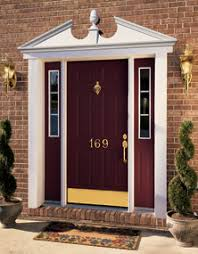 entry door kick plates. door knocker, house numbers, entry handles and locks kick plates all done in the lifetime finish quality that baldwin hardware products
