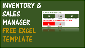 free excel inventory template free inventory management software in excel inventory
