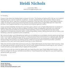 flight attendant cover letters flight attendant cover letter examples samples templates