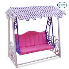 barbie size dollhouse furniture set. eting plastic garden swing backyard dollhouse furniture playset for barbie doll size dollhouse set i