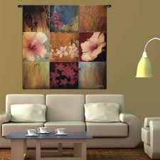 fine art tapestries botanicals tropical nine patch ii wall tapestry wall hanging  on tapestry art designs wall hangings with home decor home lighting blog antiques