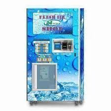 Coin Operated Vending Machines Custom Coinoperated Ice Vending Machine With Bill Acceptor Used For