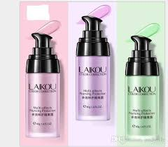 laikou face smooth primer make up base pores invisible brighten dull skin color non edogenic foundation non edogenic makeup from andylife
