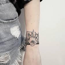 Wild Flowers Děkuji Lucce татуировки тату татуировка браслет и