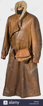 a brown leather flight suit for an english pilot royal flying corps ca