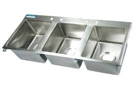 commercial kitchen sinks 3 compartment sin kitchen sinks undermount triple bowl