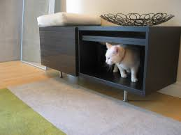 Wooden Litter Box Cabinets Put A Cat Litter Box At The Entryway Ikea Hackers Ikea Hackers