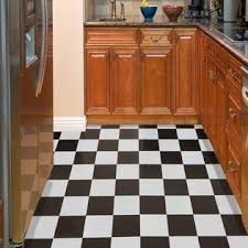 Nexus Black U0026 White Checker Board 12 X 12 Vinyl Floor Tile Pictures Gallery