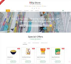 Free Ecommerce Website Templates Best Download Free HTML ECommerce Templates For Online Shopping Websites