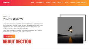 About Us Website Design 5 Responsive Website Design About Us Section Html 5 Bootstrap Css3