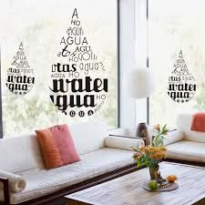 get ations minimalist living room decorative home improvement removable wall stickers bedroom background wall sticker letters of the
