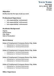 Academic Resume Custom Professional Academic Resume Template