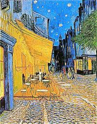 vincent van gogh most famous painting cafe terrace at night