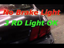 no brake lights 3rd brake light works