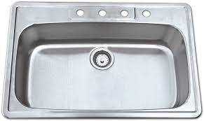 topmount ss kitchen sink