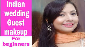 indian wedding guest makeup tutorial in hindi for beginners kaur tips