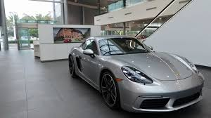 2018 porsche 718 cayman gt4. contemporary porsche 2017 porsche exclusive gt silver 718 cayman s 350 hp  west  broward inside 2018 porsche cayman gt4
