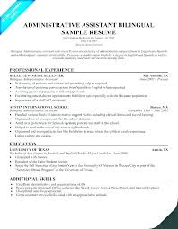 Example Medical Assistant Resume Delectable Resume Of Administrative Assistant Sample Resume Administrative
