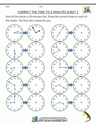 Analog Elapsed Time Adding And Subtracting Worksheets Hours To Ha ...