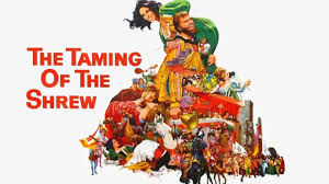 the taming of the shrew the drunken odyssey in this film elizabeth taylor plays the raging um shrew