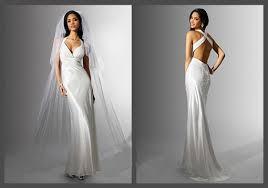<b>Sheath</b>-<b>Spaghetti</b>-<b>Strap</b>-<b>White</b>-Backless-Wedding-Dresses ...