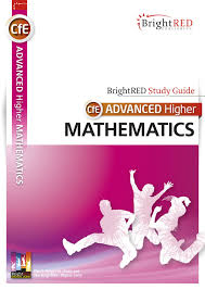 cfe advanced higher mathematics bright red study guide