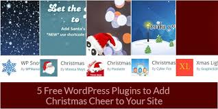Free Christmas Website Templates 5 Free Wordpress Plugins To Add Christmas Cheer To Your Site