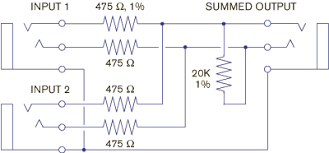 summing box wiring diagram summing diy wiring diagrams summing box wiring diagram why not wye