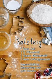 Salzteig Einfach Selber Machen Rezept Und Anleitung
