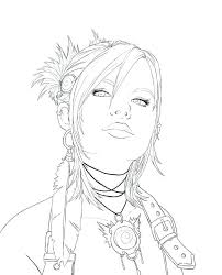 Girl People Coloring Pages At Getdrawingscom Free For Personal