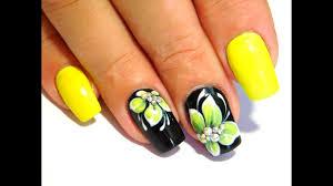 Yellow flowers New Nail Art 2017 The Best Nail Art Designs June ...