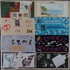 57 best AIDS Memorial Quilt images on Pinterest | Lgbt history ... & AIDS Quilt Touch / Freddie Mercury Adamdwight.com