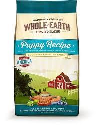 whole earth farms puppy recipe dry dog food