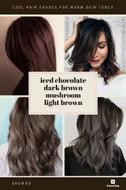 Warm Brown Hair Color Chart How To Choose The Best Hair Colour From Hair Colour Charts