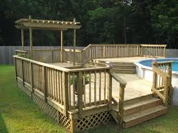 33 excellent above ground pool deck ideas on a budget stunning collection including decks diy ladder