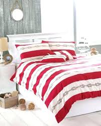 red king duvet striped seaside super cover 2 pillowcase bed set and poppy covers double cream