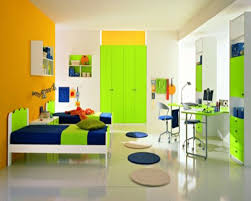 child bedroom decor. Entrancing Kid Red And Green Bedroom Decoration Using Floor Modern Child Interior Design Decor E