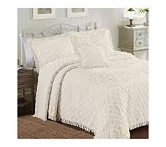 Amazon.com: Lamont Limited Josephine Bedspread, Full, Ivory: Home ... & Lamont Limited Josephine Bedspread, Full, Ivory Adamdwight.com