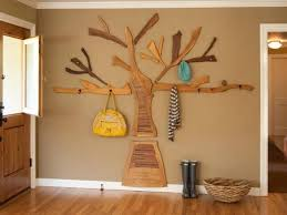 Wooden Tree Coat Rack Simple 32 DIY Tree Coat Racks Personalizing Entryway Ideas With Inspiring