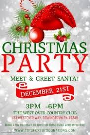 Christmas Party Flyer Templates Microsoft Customize 5 760 Christmas Poster Templates Postermywall