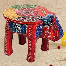 Small Picture Home Decor Handicrafts Gift Home Decor Rajasthani Wooden Elephant
