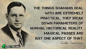 Carlos Castaneda Quotes Delectable The Things Shamans Deal With Quote By Carlos Castaneda Quotespick