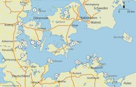 Dänemarks 67 km lange südgrenze zu deutschland bildet die einzige landgrenze. Kanu Kompass Danische Sudsee Deutsche Ostsee