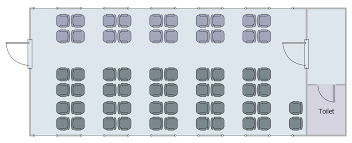 Office Seating Chart Template Seating Plans Solution Conceptdraw Com