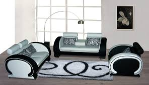 various kinds of black and white sofa to consider getting  snet
