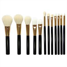 12pcs set makeup brush sets professional cosmetics 5 large 7 small brushes eyebrow powder pers mart
