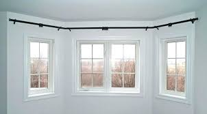 bay window curtain pole bay window rods adding bay window ds curtains adding flexible bay bend
