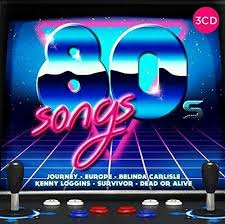 80s Songs By Various Artists Cd Aug 2017 3 Discs Crimson