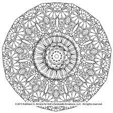 Mandala Coloring Sheets L